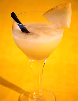 Honey Melon Cocktail